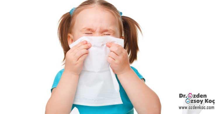 çocuklarda soğuk algınlığı