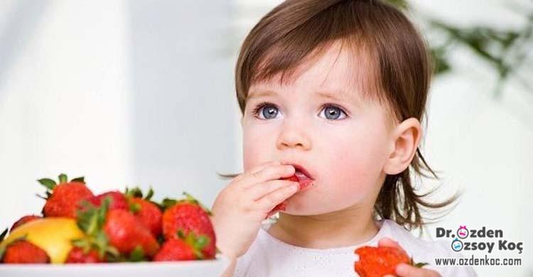 çocuklarda meyve sebze yeme alışkanlığı