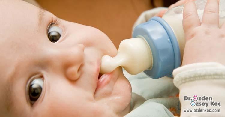 Süt bebeği çocuğu beslenmesi
