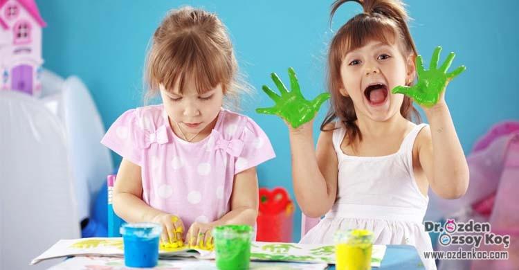 Çocuklarda anaokuluna hazırlık