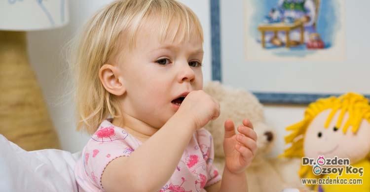 çocuklarda öksürük ve tedavisi