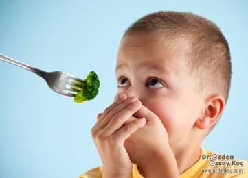 yemek yemeyen çocuk