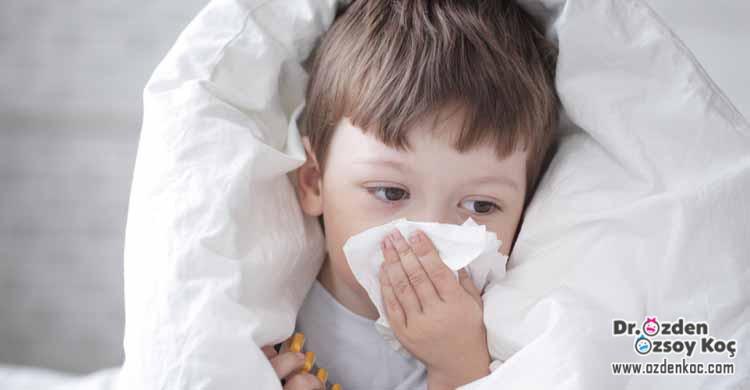 çocuklarda soğuk algınlığı ve grip