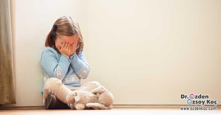 çocuklarda bebeklerde korku