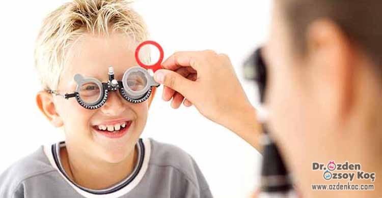 Çocuklarda Göz Tembelliği