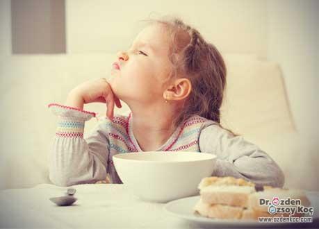 çocuğum neden yemek yemiyor